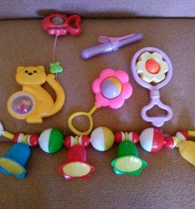 Погремушки игрушки для девочки