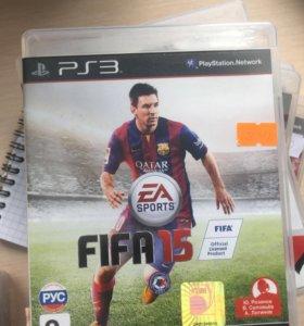 Лицензионная игра FIFA 15 на PS3