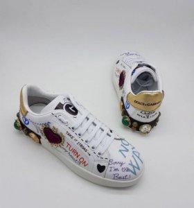 Кеды Dolce & Gabbana 2018😍