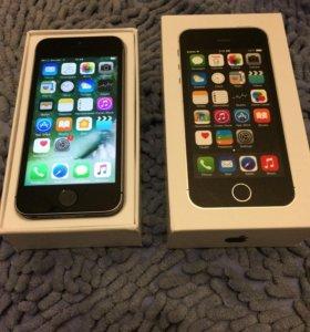 iPhone 5s 32гб space gray, полный комплект