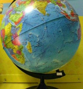 Глобус политический диаметр 320мм