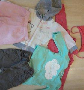 Вещи для девочки на 3-6 месяцев