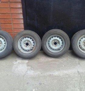 Зимняя резина Bridgestone Blizzak VRX с дисками