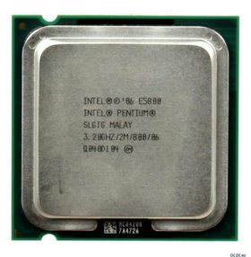 Процессор Intel® Pentium® E5800