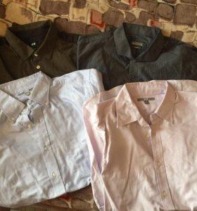 Рубашки различных брендов