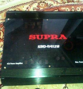 Усилитель supra 4 канальный