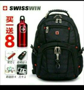 Рюкзак Swisswin SW8112 чёрный