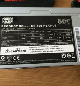 Блок питания Cooler Master 500W RS-500-psap-J3