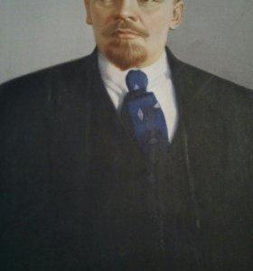Авторская картина В.И.Ленин.