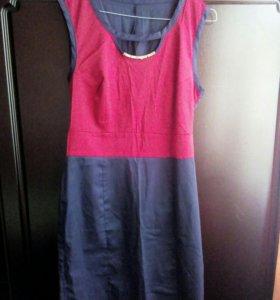 Комплект пиджак и платье (46р)
