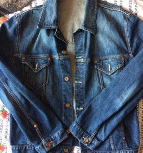 Джинсовая куртка BOSS