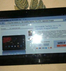 Планщет bb-mobile techno 10.1 lte tq060x 4ядра