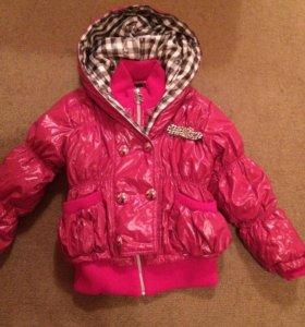 Куртка для девочки рост 128-130