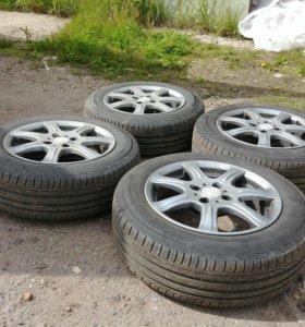 Диски колёса резина шины. 185/65/R15. литые. R15