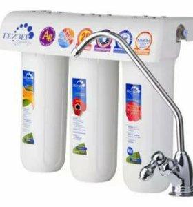 Установка фильтров на воду
