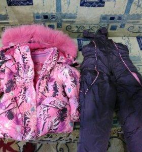 Детский костюм, куртка и шуба мутон на всё торг