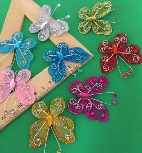 Декоративные бабочки для флористики и рукоделия