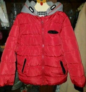 Детская куртка-пуховик