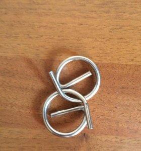 Головоломка кривые гвозди