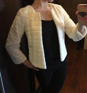 Меховой пиджак