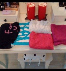 🌞 Летние майки tezenis и футболки h&m пакетом