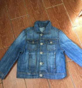Куртка джинсовые детская