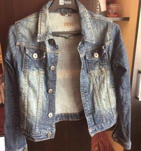 Джинсовый пиджак. 42-44