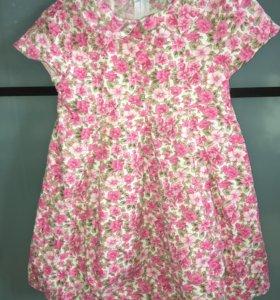 Платье для девочки ( 110размер)