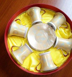 Набор кофейных чашек с блюдцами, 12 предметов