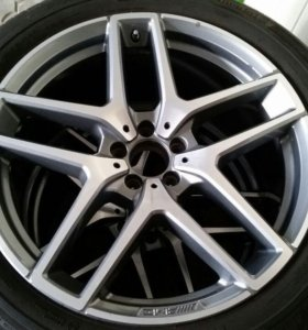 Оригинальные летние колёса R21 AMG для Mercedes GL