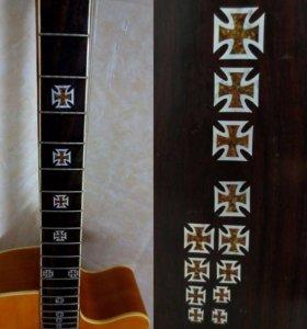 Стикеры на гитару