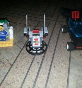 Лего мини остров + космический корабль + машинка
