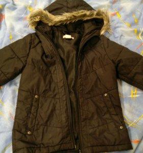 Куртка 116-126 весна-осень