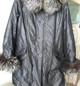 Куртка женская. длинная