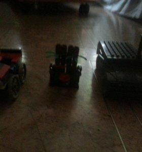 Лего машины и лего ниндзяго