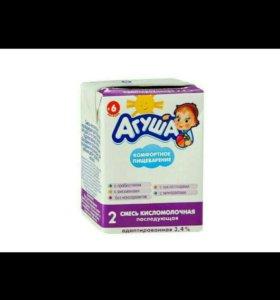 Агуша 2, кисломолочная