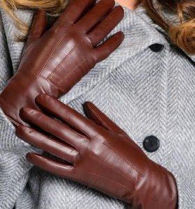 Перчатки женские ( кожа )