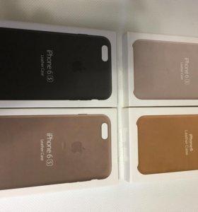 Кожаный чехол iPhone 6/6S