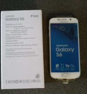 Смартфон Samsung Galaxy S6 Duos 64 Gb