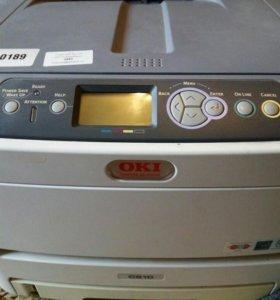 Принтер oki 610