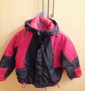 Куртка новая 5-6 лет