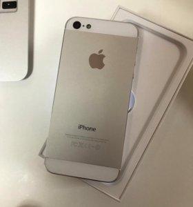 iPhone 5,16GB,Silver