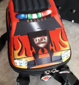 Детский каркасный рюкзак