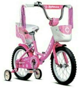 Детский розовый велосипед STELS ECHO 16