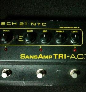 Гитарный преамп SansAmp TRI A. C