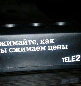 Tele2 игрушка кирпич анти стресс