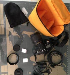 Фотоаппарат Nikon D90 + объектив Nikkor 18-105 mm
