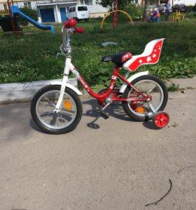 Велосипед детский 3,5-6,5 лет.торг.