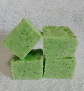 Мятный сахарный скраб для тела