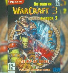 Игровой диск WarCraft 3, выпуск 2